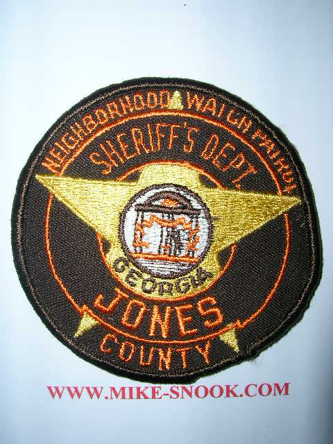 Jones County Sheriff's Office Mississippi http://www.mike-snook.com/states/georgia.html