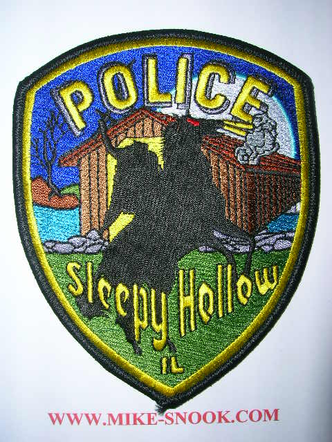 Police Patch Collector Shows Michigan