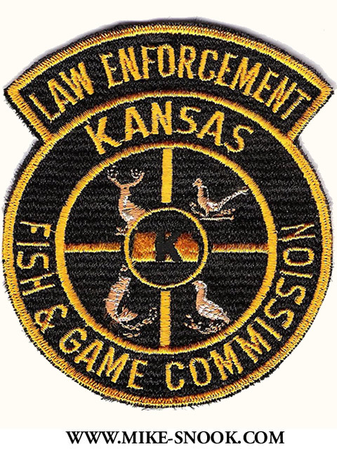 mike snook 39 s police patch collection state of kansas