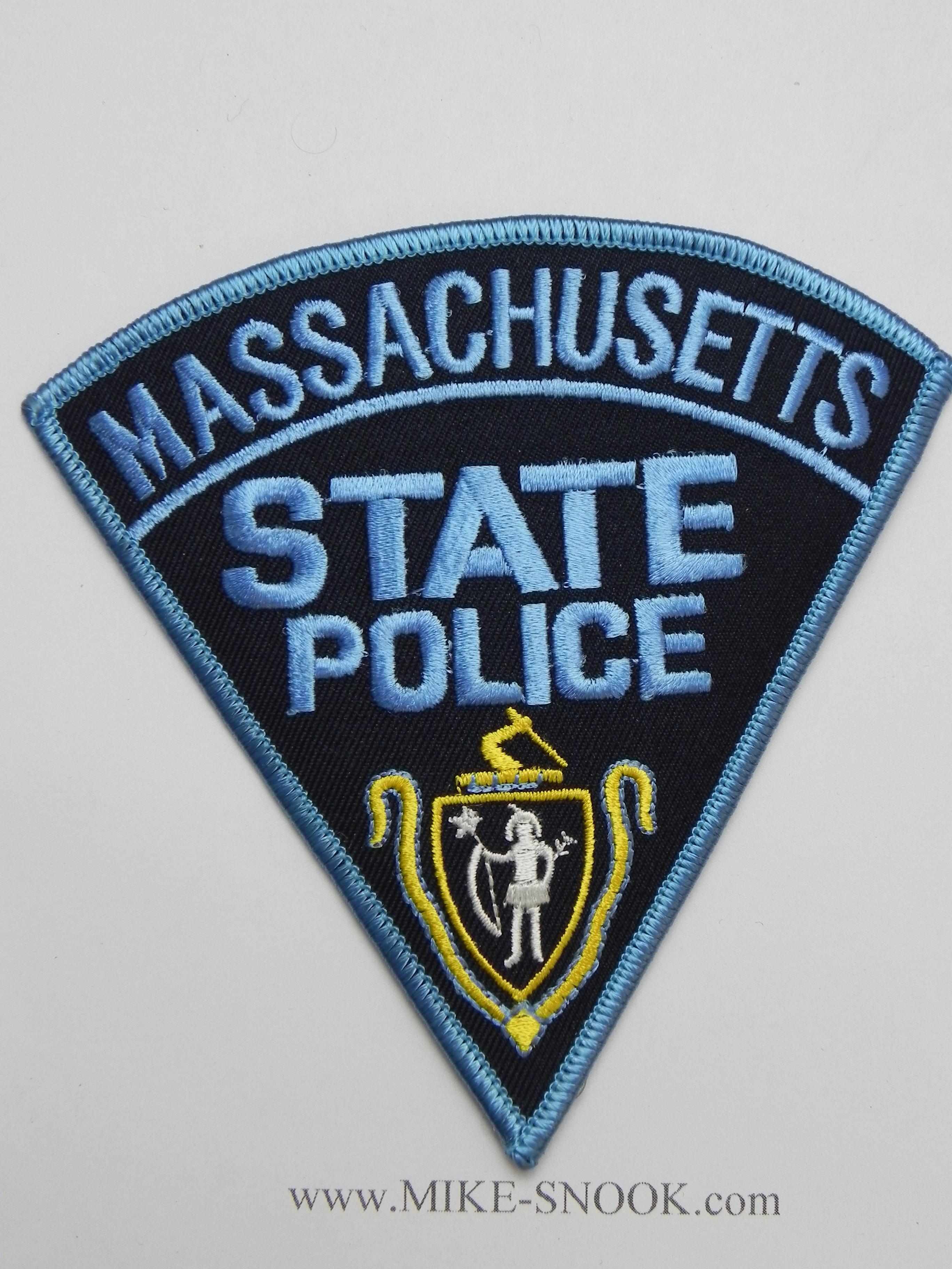 BOSTON MASSACHUSETTS POLICE PATCH