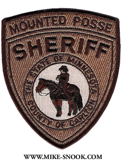 Mike Snook's Police Patch Collection - State of Minnesota