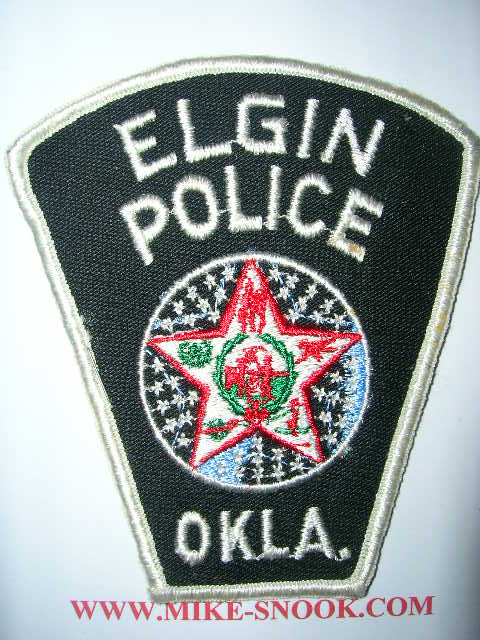 Mike Snook's Police Patch Collection - State of Oklahoma