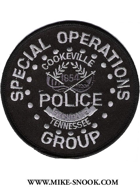 Mike Snook's Police Patch Collection - State of Tennessee
