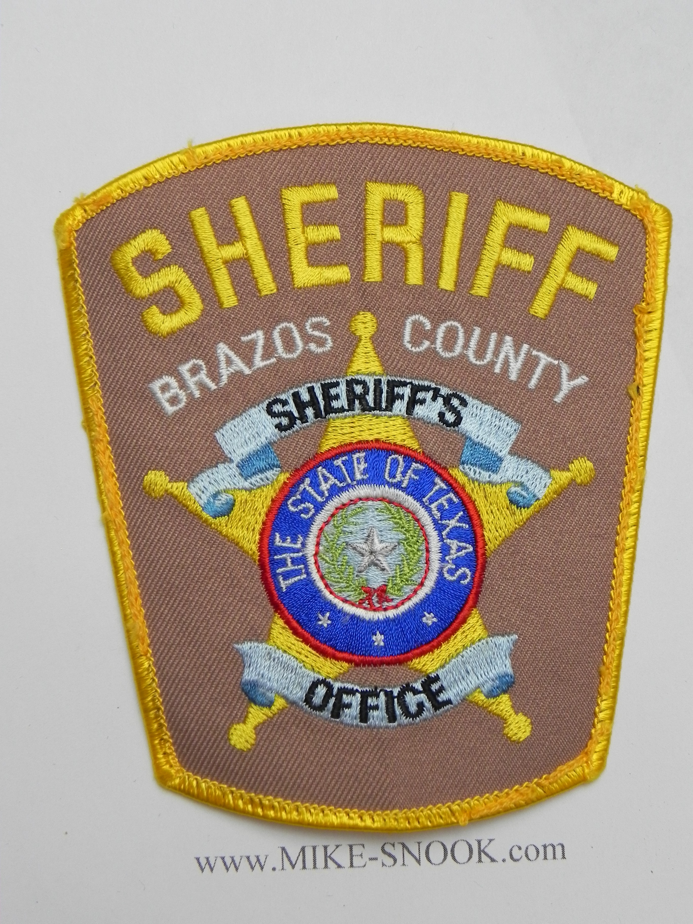 COOKE COUNTY TEXAS TX SHERIFF POLICE PATCH