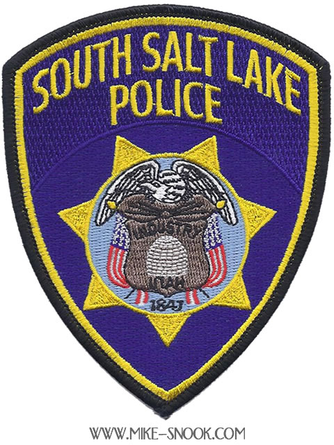 Mike Snook's Police Patch Collection - State of Utah