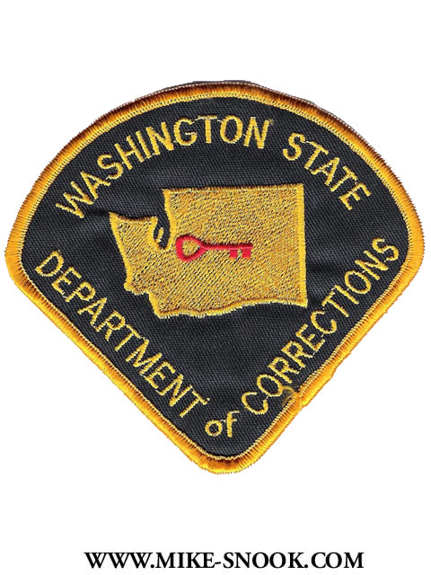 Mike Snook S Police Patch Collection State Of Washington