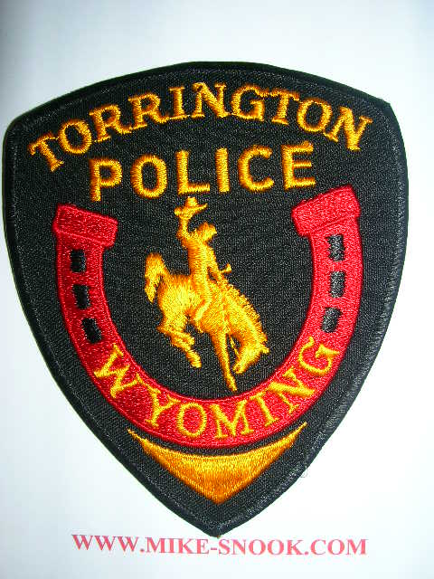 Mike Snook S Police Patch Collection State Of Wyoming