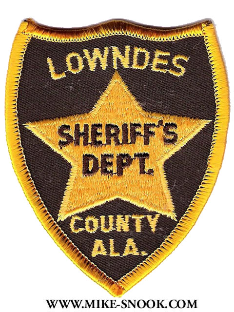 Mike Snook's Police Patch Collection - State of Alabama
