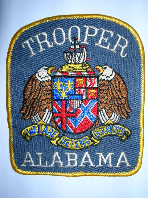 Mike Snooks Police Patch Collection  State of Alabama