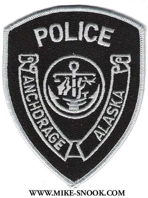 ANCHORAGE ALASKA CAMPUS POLICE PATCH ANCHORAGE FAIRBANKS AK NOME SEWARD VILLAGE