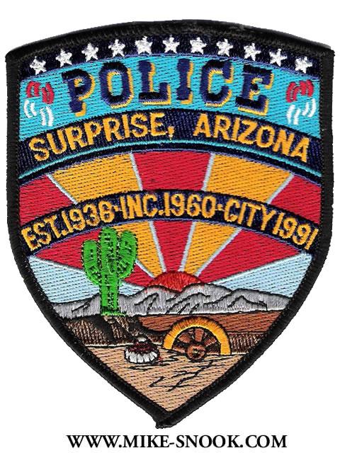 Surprise Arizona Police Department Mike Snook's Pol...