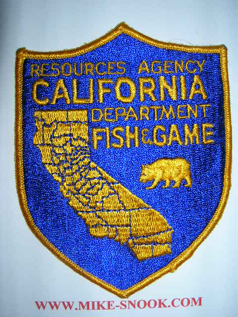 Ca department of fish and game for Department of fish and game