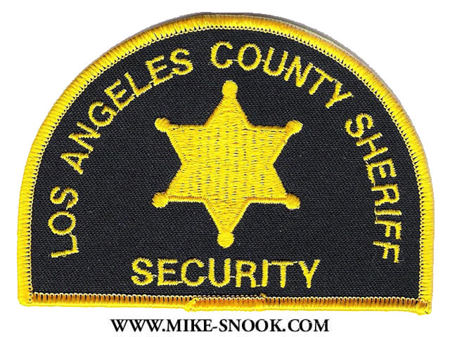 LOS ANGELES P0LICE DEPARTMENT SUBDUED NARCOTICS SHOULDER PATCH