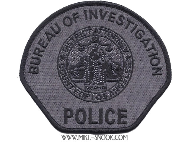Mike Snook's Police Patch Collection - State of California