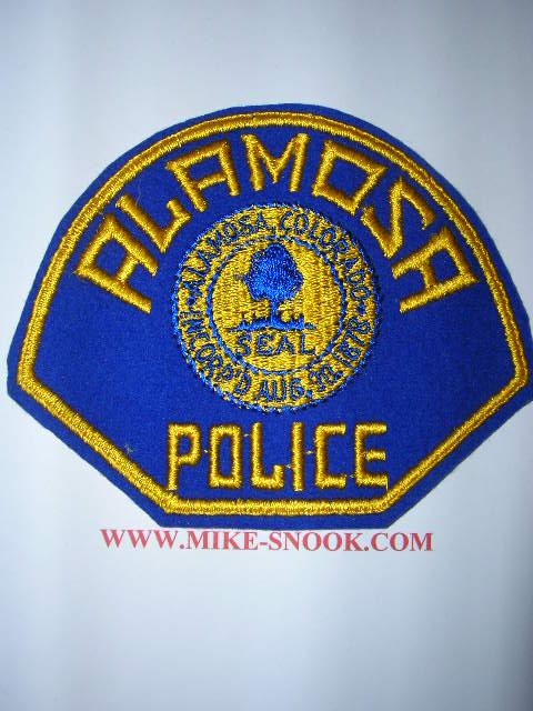 Adams County Sheriff Colorado >> Mike Snook's Police Patch Collection - Colorado - Alamosa County