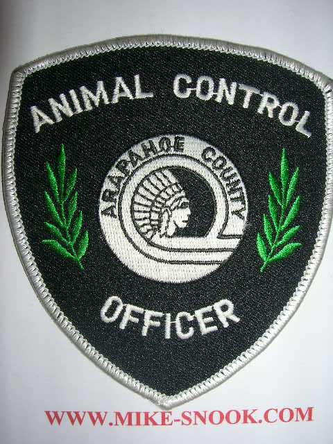 Mike Snooks Police Patch Collection Colorado Arapahoe