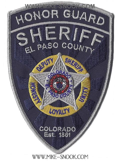 Pikes Peak Parking >> Mike Snook's Police Patch Collection - Colorado - El Paso ...