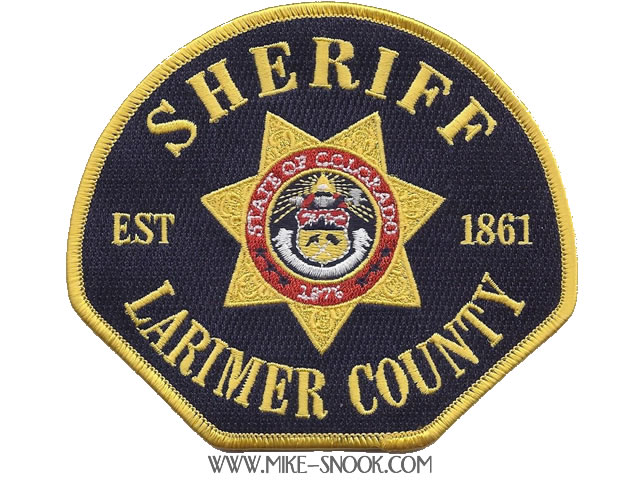 Mike Snook's Police Patch Collection - Colorado - Larimer County
