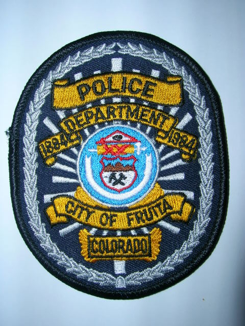 Mike Snook's Police Patch Collection - Colorado - Mesa County