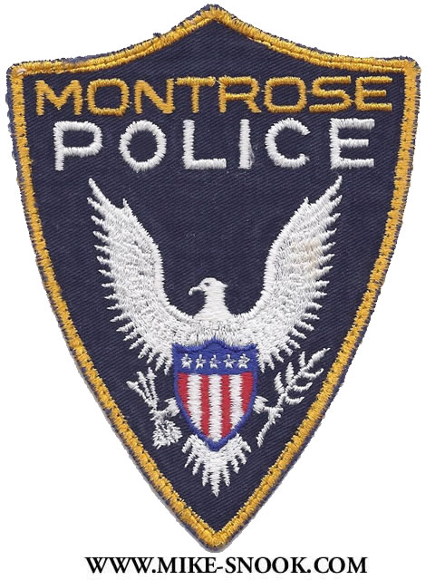 Mike Snook S Police Patch Collection Colorado Montrose