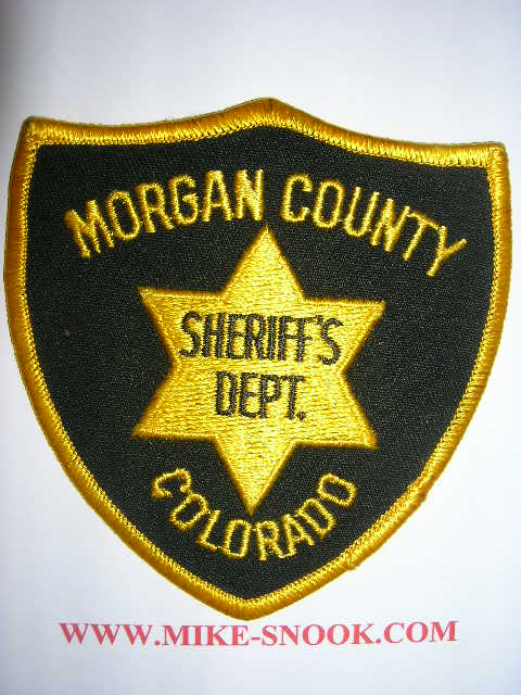 Mike Snook S Police Patch Collection Colorado Morgan