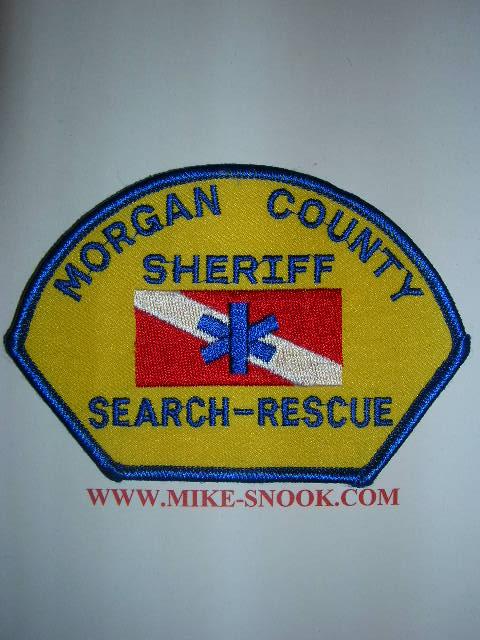 Mike Snook S Police Patch Collection Colorado Morgan