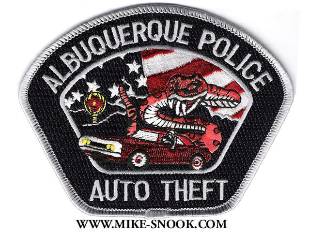 Mike snook 39 s police patch collection state of new mexico Motor vehicle department albuquerque new mexico